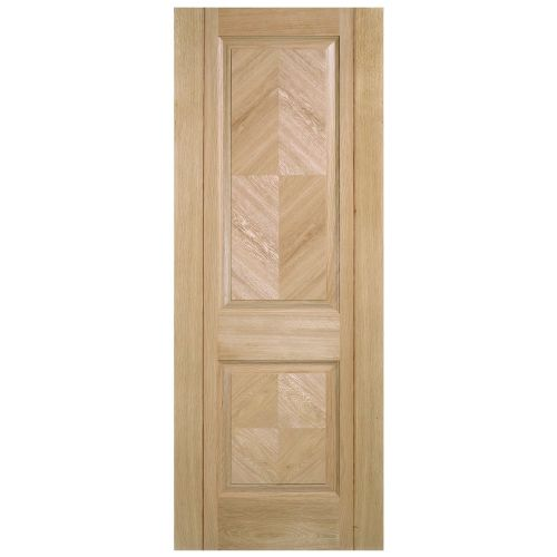 Internal Oak Madrid Pre-Finished Half Hour Fire Rated Door